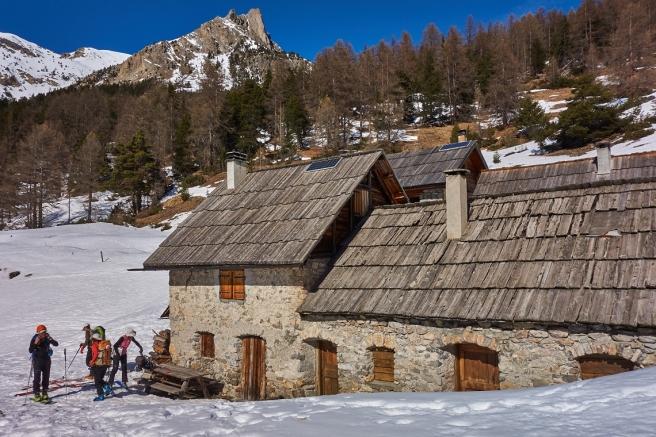 Pique-Nique au hameau des Acles (non habité en hiver)