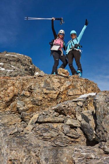 Jeanne et Ariane au top !