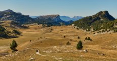 La plaine de la Queyrie, l'âme des Hauts-Plateaux du Vercors...
