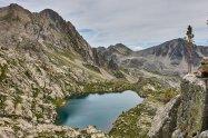 Lac des Bresses vers la baisse du Lac Nègre