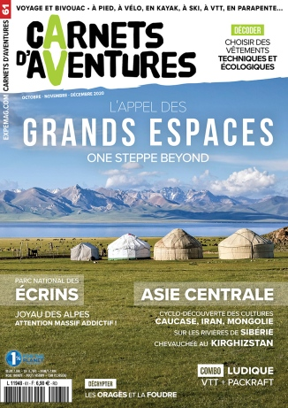 Carnets d'Aventures - N°61 - 2020 - 11 pages + 1 page intro + photos PackRaft